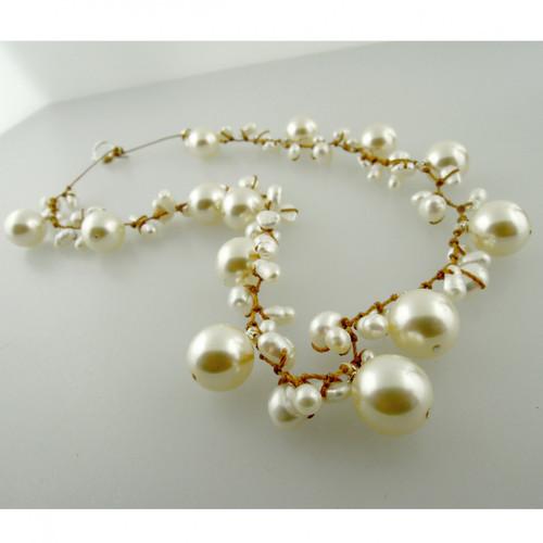 galaxy pearl - white 10mm