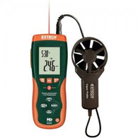 EXTECH HD300 CFM/CMM Thermo-Anemometer with built-in InfaRed Thermometer with limited NIST