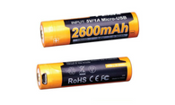 ARB-L18-2600U Li-ion 18650 Rechargeable Battery