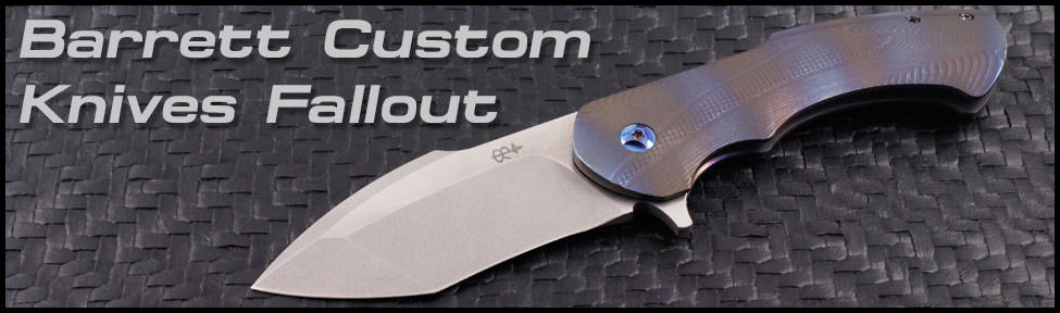 Rick Barrett Custom Knives