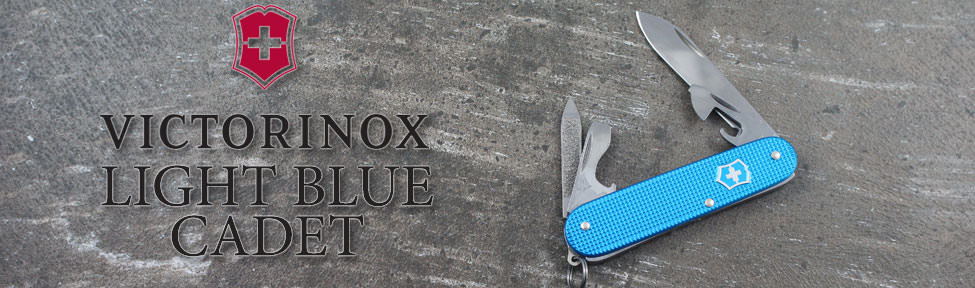 Victorinox Swiss Army Light Blue Alox Cadet