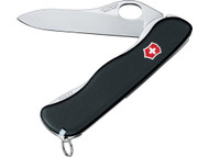 Swiss Army One Hand Sentinel with Clip - Non Serrated