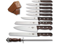 Victorinox 11 Piece Rosewood Block Set