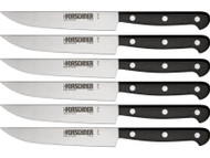 "Victorinox 6 Piece 5"" Wavy POM Steak Knife Set"