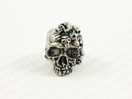 Mind Skull Pewter Bead
