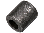 Straight Barrel Damascus Bead