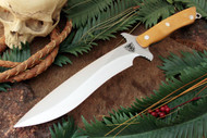 Blackjack Mamba II Custom Natural Canvas Micarta