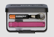 Maglite Solitaire Flashlight - Pink