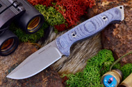 Ambush Sentry - Stonewashed - Blue Denim Micarta