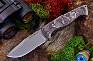 Ambush Sentry - Stonewashed - Sculpted Snakeskin Micarta