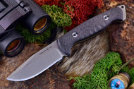 Ambush Sentry - Stonewashed - Sculpted Black Carbon Fiber
