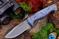 Ambush Sentry - Stonewashed - Sculpted Blue Denim Micarta