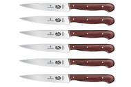 Victorinox Rosewood 6 Piece Spearpoint Steak Knife Set