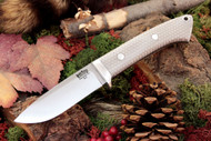 Classic Drop Point Hunter A2 White C-Tek