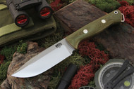 Bravo Squad Leader Green Canvas Micarta