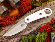 Blackjack Necker 155 Neck Knife White Pearl Kirinite