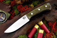 Fox River 3V LT Green Canvas Micarta - Matte