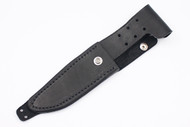Blackjack Model 5 Leather Sheath - Black Left