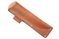 Tundra Leather Sheath - Brown Right