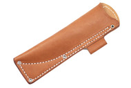 Tundra Leather Sheath - Brown Left