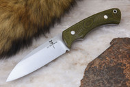 Zoe Crist Fire Creek Green Canvas Micarta