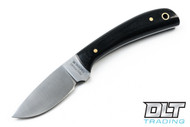 Hess Caper Black Canvas Micarta