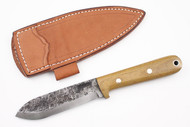Lon Humphrey Brute de Forge Kephart Natural Canvas Micarta - Scandi Ground #9