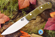 Tracker Companion Green Canvas Micarta