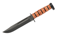 Kabar 1317 Dog's Head Fighting Knife - Plain Edge