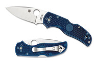 Spyderco Native 5 - Dark Blue FRN - S110V Blade