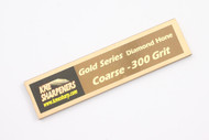 KME Gold Series - Coarse 300 Grit Diamond Hone