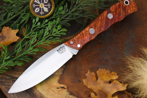 Bark River Lil' Canadian 3V LT Red & Gold Elder Burl