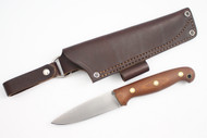 LT Wright GNS AEB-L Natural Micarta - Matte Finish - Convex