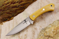 Zoe Crist Kestrel Antique Ivory Micarta - Red Liners