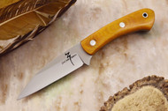 Zoe Crist Goshawk Natural Canvas Micarta