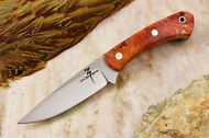 Zoe Crist Kestrel Red Spalted Maple Burl #2