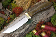 Jesse Hemphill Town Creek Green Canvas Micarta