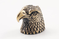 Lion ARMory American Eagle Bead - Brass