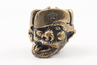 Lion ARMory Crazy Russian Bead - Brass