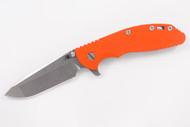 "Hinderer 4"" XM-24 Spanto - Blaze Orange G-10"