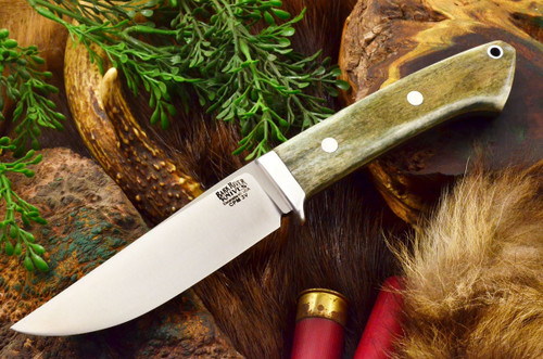 Bark River Classic Clip Point 3V Multicolored Camel Bone