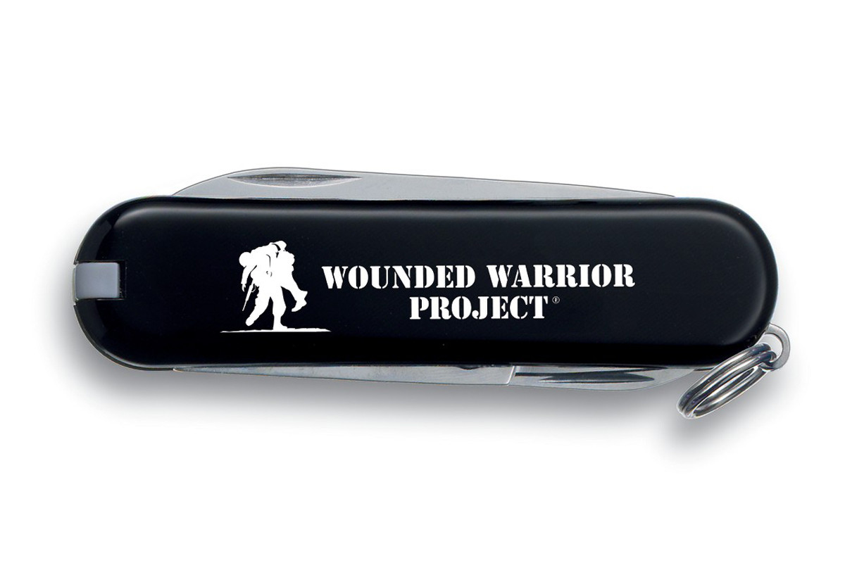 Swiss Army Wounded Warrior Project Black Classic Dlt Trading