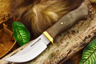 Jesse Hemphill High Falls - Moran Handle - Green Canvas Micarta