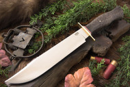 Bark River 1909 Michigan Bowie - Moran Handle - Black Birdseye Maple
