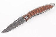Chris Reeve Mnandi - Snakewood Inlay - Ladder Damascus #3