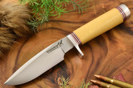 Blackjack 125 Antique Ivory Micarta