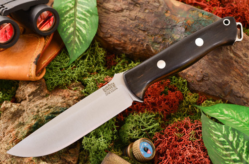 Bark River Bravo 1.25 S35VN Black Ebony