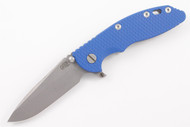 "Hinderer 3.5"" XM-18 Fatty Spanto - Blue G-10 - Full Working Finish"