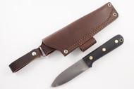 LT Wright Genesis 3V - Scandi - Black Micarta  - Matte Finish