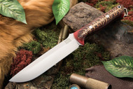 Bark River Bravo 1.5 S35VN Red Pine Cone